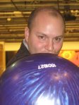 Dan Crodella and his bowling ball